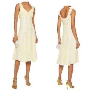 CINQ À SEPT Floral Print Silk Jamie Dress